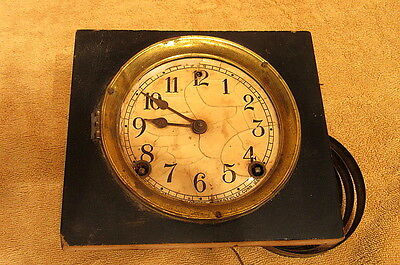 Vintage Sessions Clock Movement For Parts Or Repair