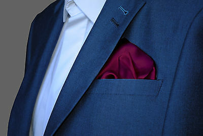 MAGENTA Pink Purple Maroon Burgundy Pocket Square Handkerchief