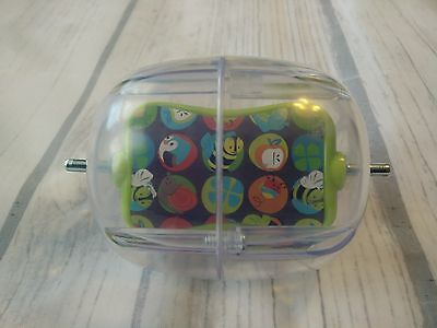 Evenflo Exersaucer Spinning Rattle Replacement Part Spinner Toy Double Fun Bees
