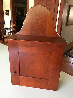 "David T. Smith ""Cherry"" Hanging Wall Cupboard"