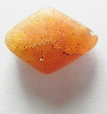 Zurqieh- Af2164- Ancient Egypt, New Kingdom Carnelian Bead. 1400 B.c