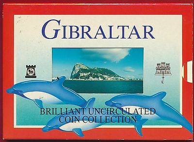 Gibraltar - 2000 - Brilliant Uncirculated Coin Collection