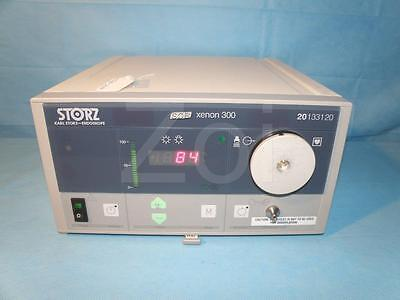 STORZ Xenon 300 watt Light Source, model 201331-20, 180 hrs.