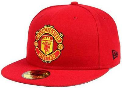 Official Manchester United English Premier League New Era 59FIFTY Fitted Hat bc1503bfccb0