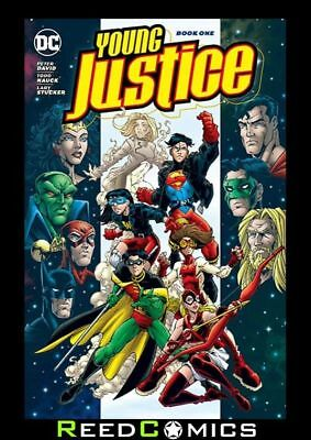 YOUNG JUSTICE BOOK 1 GRAPHIC NOVEL (408 Pages) Paperback Collects #1-7 + more