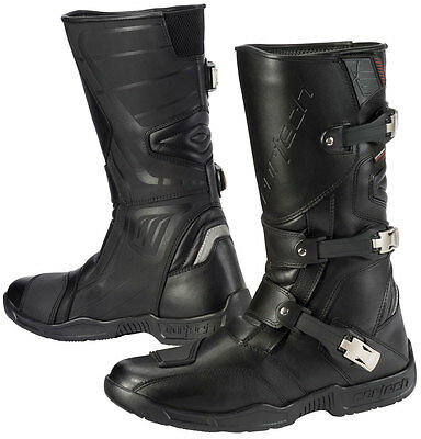 CORTECH Accelerator XC Adventure Touring Motorcycle Boots (Black) US 10