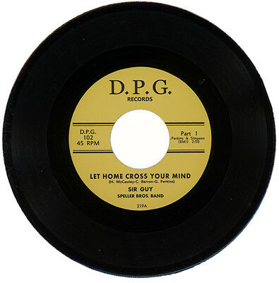 """SIR GUY & THE SPELLER BROS. BAND  """"LET HOME CROSS YOUR MIND Part 1""""   LISTEN!"""