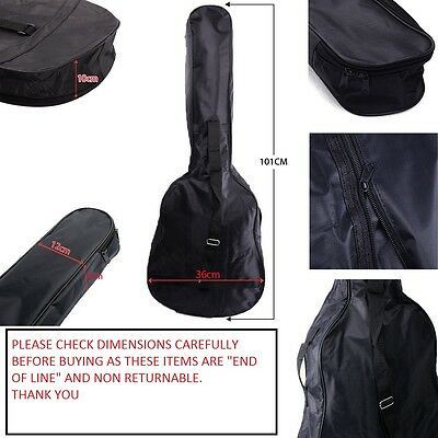 Acoustic-and-Classical-Guitar-Carrying-Carry-Case- Gig Bag-Holder