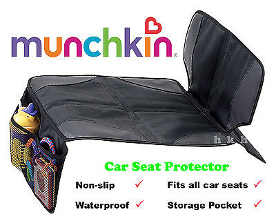 Munchkin Car Seat Protector Kick Mat Back Upholstery Child Kids Baby Auto Cover