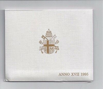 Vatican Coins Official 7 Coin Mint Set 1995  Anno 17