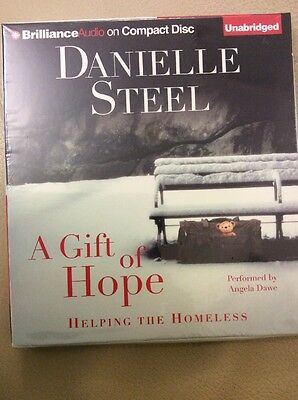 A Gift of Hope: Danielle Steel Audiobook On 3 CD's : New & Sealed.