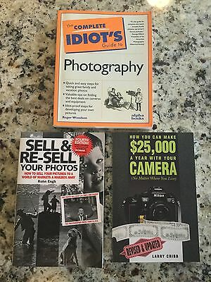 photography book lot- informative books on the photography industry.