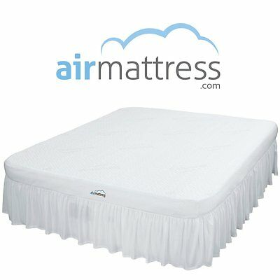Air Mattress KING size - Best Choice RAISED Inflatable Bed with Fitted Sheet and