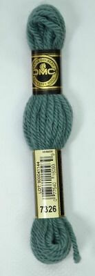 DMC TAPESTRY WOOL, 8m SKEIN, Colour 7326 BLUE GREEN