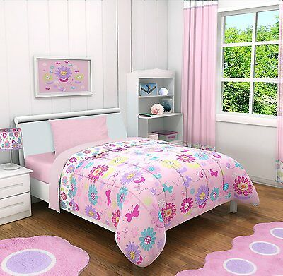 Casa Garden Daisy Flowers 4 Piece Toddler Bedding Set , Toddler, Floral