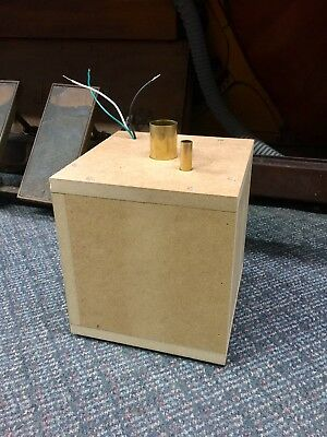 Player Piano Electric Vacuum Motor / Suction Box - Electrify your player piano!