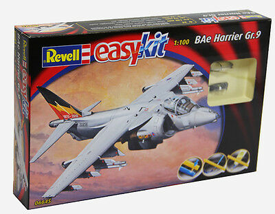 Hawker Harrier easykit Revell 1:100 Kit RV06645 Model