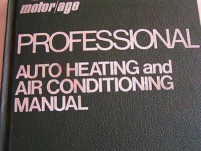 1979 Chilton's Motor Age Professional Auto Heating & Air Conditioning Manual