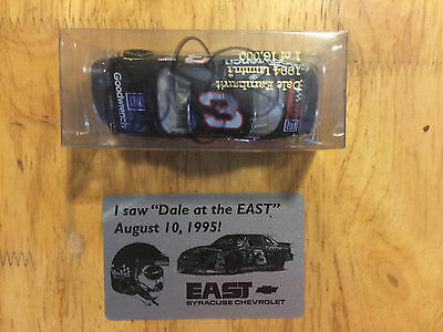 DALE EARNHARDT SR. Signed Autographed 1994 Goodwrench Chevy NASCAR #3 Diecast