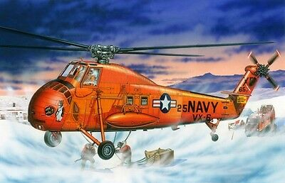 UH-34D SEAHORSE OPERATION DEEP FREEZE ANTARCTICA MRC KIT Trumpeter 1:48 TR64106