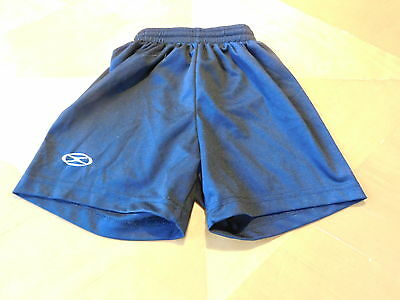 Xara Black Soccer Shorts Youth Small 5-6