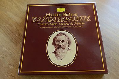 BRAHMS Chamber Music complete 15 LP box DGG 2720 096