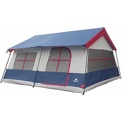 Camping Tent 14 Person Large 3 Rooms 14'x14' Fishing Huge Home Family Cabin Bag