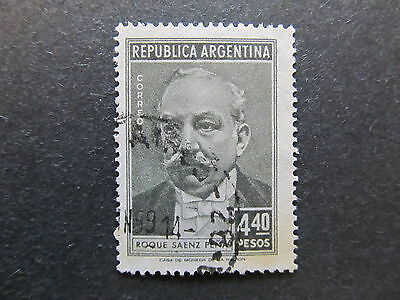 A4P30 Argentina 1957 4.40p used #8