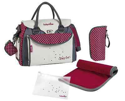 Brand new Babymoov maternity changing bag baby style chic with changing mat