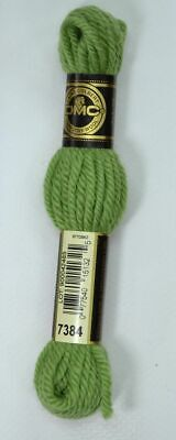 DMC TAPESTRY WOOL, 8m SKEIN, Colour 7384 FOREST GREEN