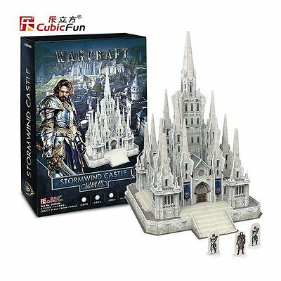 Warcraft Stormwind Castle Kit 3D In Foam CUBICFUN CFDS0942H Model