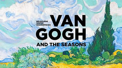 Van Gogh And The Seasons Melbourne Ngv B4 Sized Calendar June 2017 - May 2018