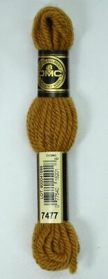 DMC TAPESTRY WOOL, 8m SKEIN, Colour 7477 LIGHT BROWN