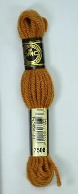 DMC TAPESTRY WOOL, 8m SKEIN, Colour 7508 GOLDEN BROWN