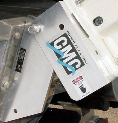 CMC PT-130 Tilt and Trim Plate, New in Box, w/o Gauge