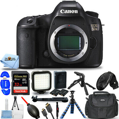 Canon EOS 5DS DSLR Camera (Body Only) #0581C002 PRO BUNDLE BRAND NEW