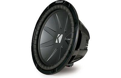 """DEAL!!! Kicker 40CWR124 CompR Series 12"""" Subwoofer with Dual 4-Ohm Voice Coils"""