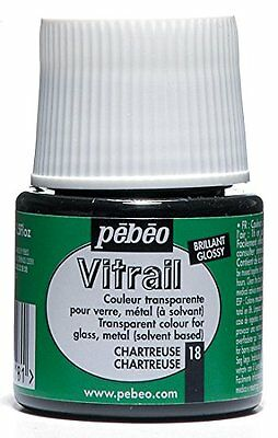 Pebeo Pebeo Vitrail Stained Glass Effect Glass Paint 45-Milliliter Bottle, Chart