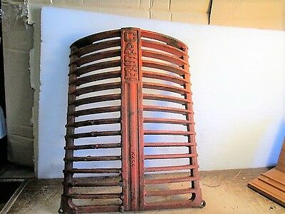 "Case 5358A DC Tractor Front Radiator Grill is 20 1/2"" up & down & 16 1/4"" wide"