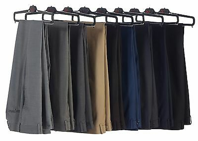 Studio 10 by Gioberti Mens Slim Fit Flat Front Dress Pants, TL-99, CLEARANCE!