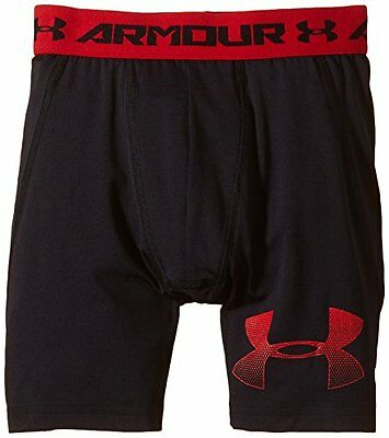 Black/Risk Red (TG. Small) Under Armour pantaloni Fitness e pantaloncini ragazzo