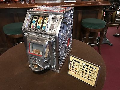 "1929 MIDWEST ""Puritan Baby Bell"" Trade Stimulator with Jackpot ""WATCH VIDEO"""