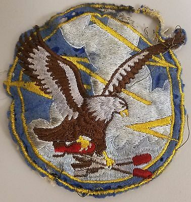 WWII Korea 1950s Navy Squadron Patch VS-913 Off Jacket Used