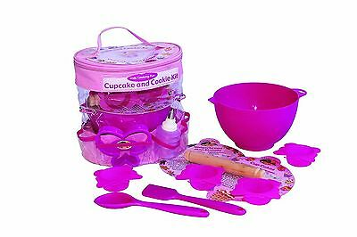 Little Pals Mixed Materials Cupcake and Cookie Baking Set Pink Age 3+