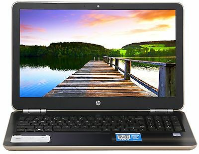 "New HP 15.6"" Intel Core i5-6200U 2.8 GHz Turbo 8GB Ram 1TB HD DVDRW Win 10 Gold"