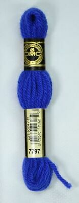 DMC TAPESTRY WOOL, 8m SKEIN, Colour 7797 DARK ROYAL BLUE