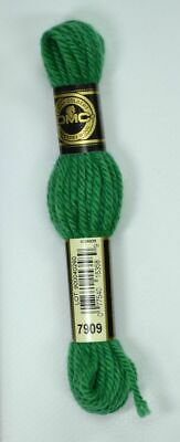 DMC Tapestry Wool, 8m SKEIN, Colour 7909 DARK EMERALD GREEN