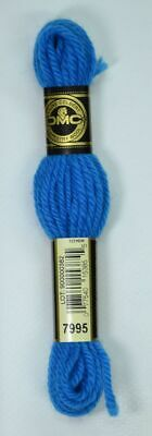 DMC TAPESTRY WOOL, 8m SKEIN, Colour 7995 ELECTRIC BLUE