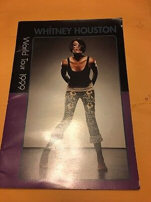 Whitney Houston, my love is your love, World tour 1999 tour book
