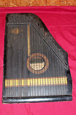 Menzenhauer's US Guitar Zither Co Stringed String Instrument Old Antique Musical